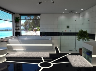 bilder - modernes badezimmer