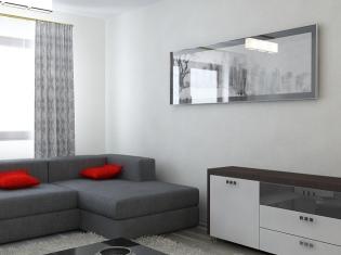 bilder - Wohnzimmer Rot Grau