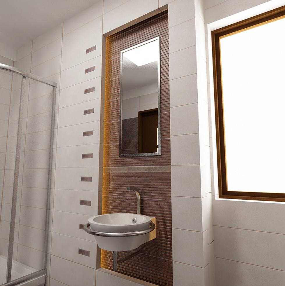 bilder 3d interieur badezimmer wei braun 39 baie parascanu 39 1. Black Bedroom Furniture Sets. Home Design Ideas