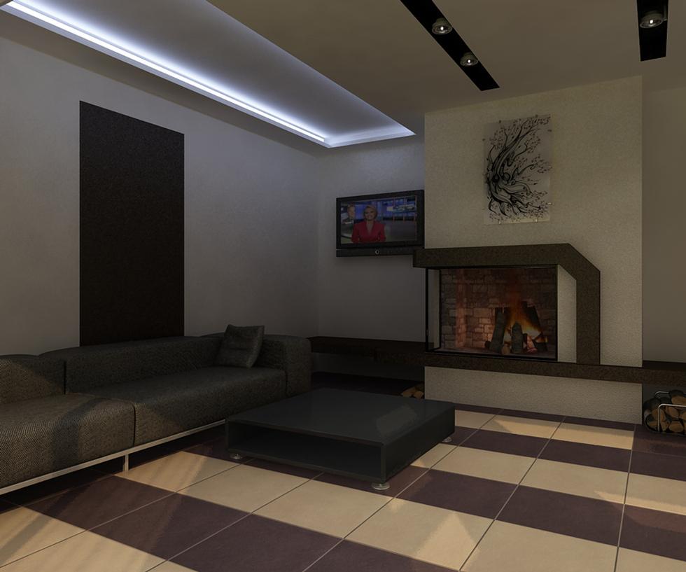 Bilder - 3D Interieur Wohnzimmer Modern 'Casa Iezareni' 12