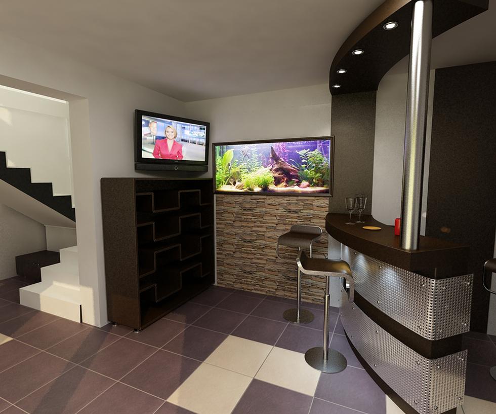 Bilder - 3D Interieur Wohnzimmer Modern 'Casa Iezareni' 8