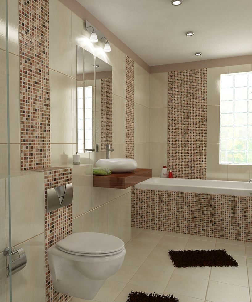 Badezimmer Fliesen Beige Braun Bilder Pictures to pin on ...