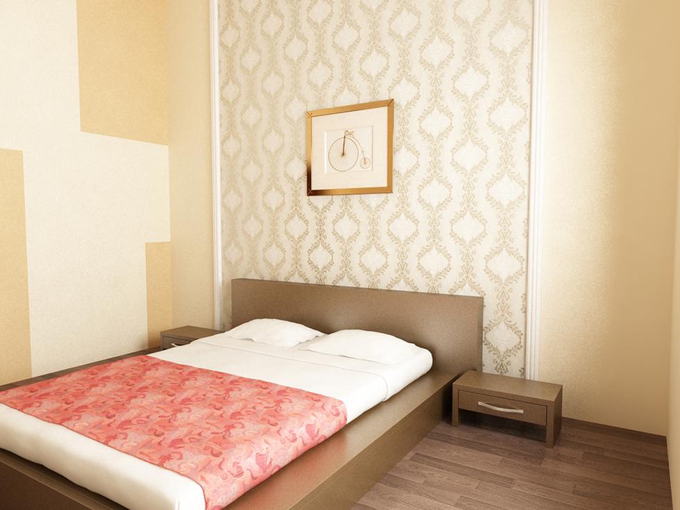Bilder - 3D Interieur Schlafzimmer Weiß-Beige \'Casa David\' 5