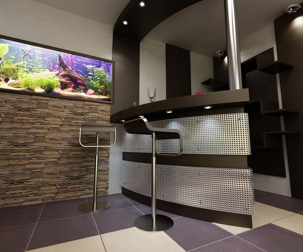 3D Interieur Wohnzimmer Modern Casa Iezareni 2
