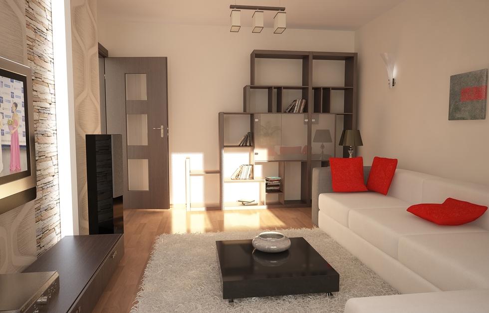 Bilder 3d interieur wohnzimmer wei beige 1 for Wohnzimmereinrichtung grau