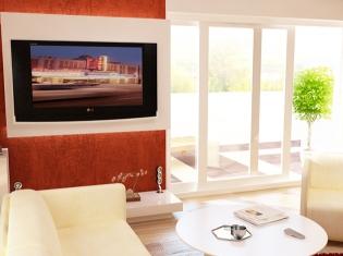 bilder - Wohnzimmer Orange Weis