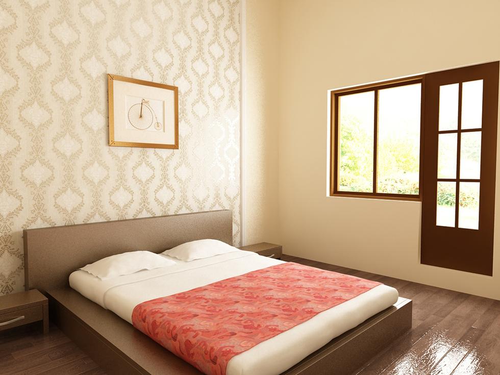Bilder - 3D Interieur Schlafzimmer Weiß-Beige 'Casa David' 6