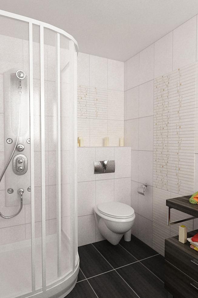 bilder - 3d interieur badezimmer weiß-braun 'alexandra duma' 12 - Badezimmer Wei