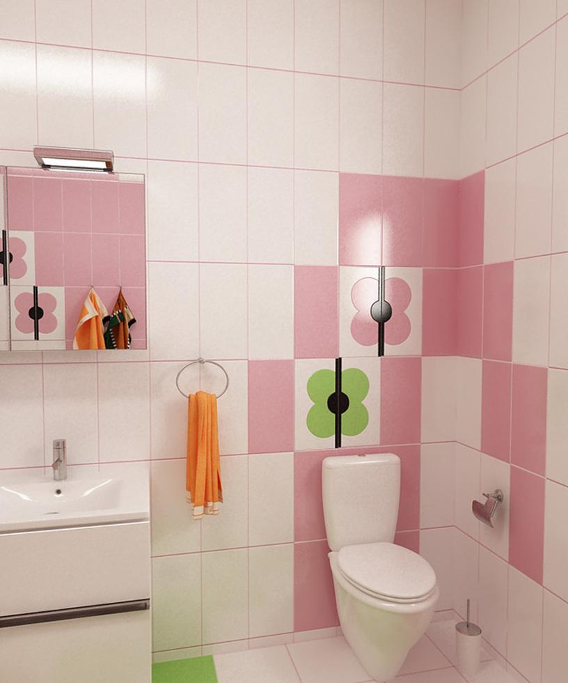 bilder - 3d interieur badezimmer grün-rosa 'ral fete' 12, Hause ideen