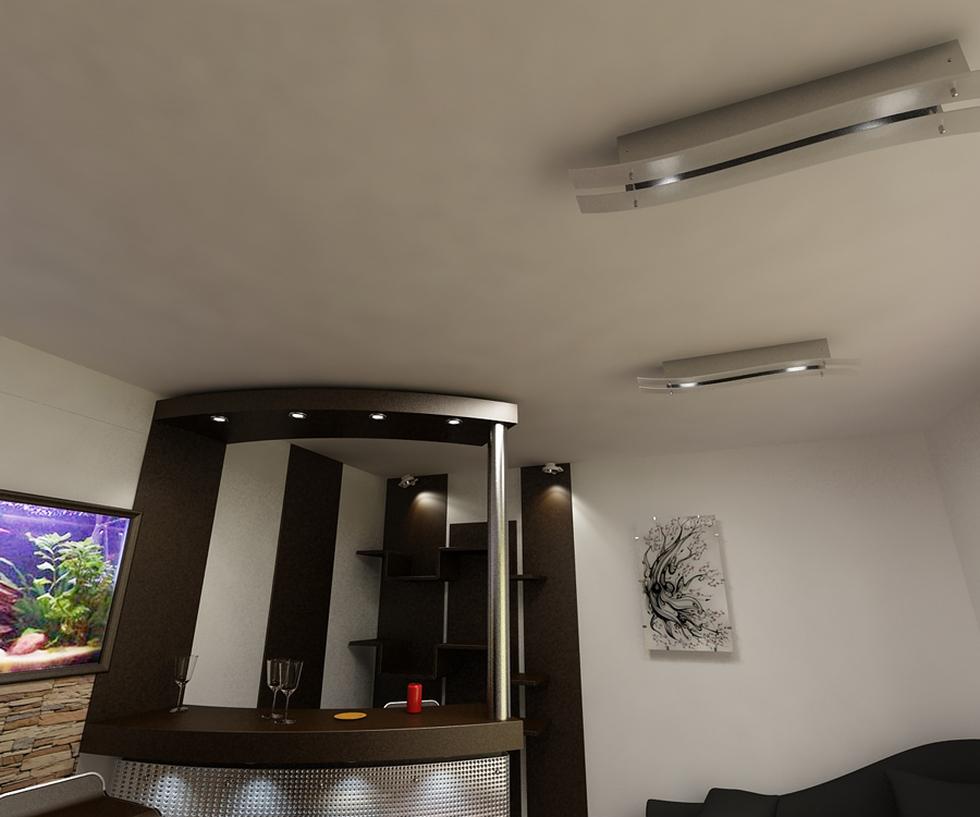 Bilder - 3D Interieur Wohnzimmer Modern \'Casa Iezareni\' 1